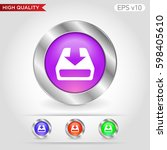 colored icon or button of... | Shutterstock .eps vector #598405610