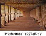 kirillov  russia   july  2011 ... | Shutterstock . vector #598425746