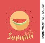 vector illustration of... | Shutterstock .eps vector #598428350