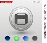 colored icon or button of... | Shutterstock .eps vector #598434776