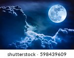 Super moon. attractive photo of ...