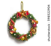 Christmas Wreath With...