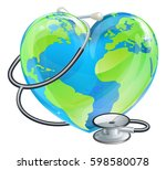 conceptual illustration of a...   Shutterstock . vector #598580078