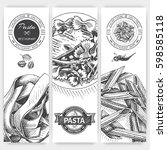vector illustration sketch  ... | Shutterstock .eps vector #598585118