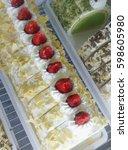 cake ice cream | Shutterstock . vector #598605980