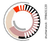 Abstract Circle Design Element...
