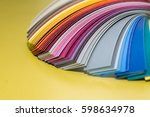 color palette guide | Shutterstock . vector #598634978
