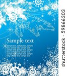 christmas background | Shutterstock .eps vector #59866303