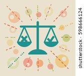 ethics. concept vector...   Shutterstock .eps vector #598666124