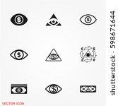 money eye icons