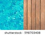 Wooden Platform On Swimming...