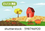 big set infographics vector... | Shutterstock .eps vector #598746920