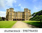 hardwick  derbyshire  uk. june... | Shutterstock . vector #598796450