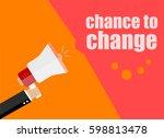 flat design business concept.... | Shutterstock . vector #598813478