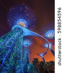 singapore   may 16  2016  ... | Shutterstock . vector #598854596