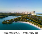 Aerial View Oleta River State - Fine Art prints