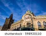 Prague  Municipal House And Th...