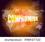 business concept  word... | Shutterstock . vector #598937720