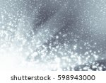 abstract silver background with ...   Shutterstock . vector #598943000