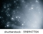 abstract silver background with ... | Shutterstock . vector #598947704