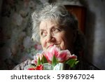 Portrait Of Grandmother With...
