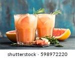 Grapefruit And Rosemary Gin...