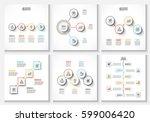 vector clean minimal... | Shutterstock .eps vector #599006420