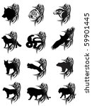tattoo | Shutterstock .eps vector #59901445