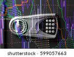 financial accounting of profit... | Shutterstock . vector #599057663