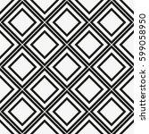 vector seamless pattern. modern ... | Shutterstock .eps vector #599058950
