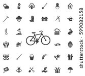 cycle icon. set of spring icons | Shutterstock .eps vector #599082158