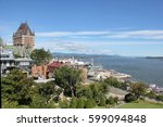 """old quebec with """"chateau... 