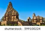 marvelous architecture details...   Shutterstock . vector #599100224