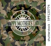 happy mother's day on... | Shutterstock .eps vector #599120774