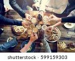 craft beer booze brew alcohol... | Shutterstock . vector #599159303