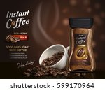 Instant Coffee Ad  With Coffee...
