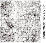 vector brush stroke texture... | Shutterstock .eps vector #599177714