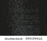 corrupted source code. modern...   Shutterstock .eps vector #599199410