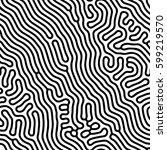 abstract background of vector... | Shutterstock .eps vector #599219570
