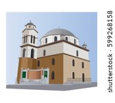 Agios Nikolaos Church Vector