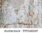 white concrete wall texture | Shutterstock . vector #599268269