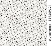 outline polygon seamless... | Shutterstock .eps vector #599269124