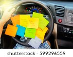 To Do List In A Car   Busy Day...