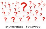 many questions | Shutterstock . vector #59929999