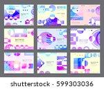 business brochure design ...   Shutterstock .eps vector #599303036