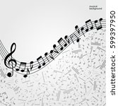 Vector Music  Background ...