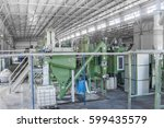 factory equipment for... | Shutterstock . vector #599435579