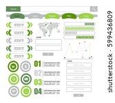 web element | Shutterstock .eps vector #599436809