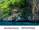 Hut On The Cliff At Island Of...