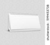 vector realistic horizontal... | Shutterstock .eps vector #599453738